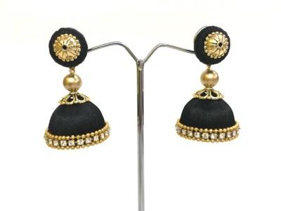 Ovis Creations Silk thread Earring jumkka Silk Dori Jhumki Earring