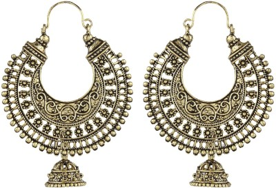 Crazytowear Antique Alloy Hoop Earring