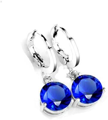 University Trendz Univ _E070 Crystal Alloy Clip-on Earring