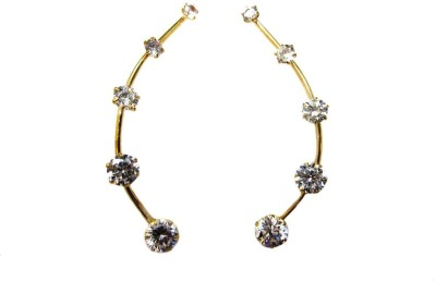 Roma Brothers ADM003 Crystal Alloy Cuff Earring