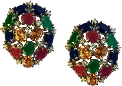 Jalparee Exotic Delight Alloy Stud Earring