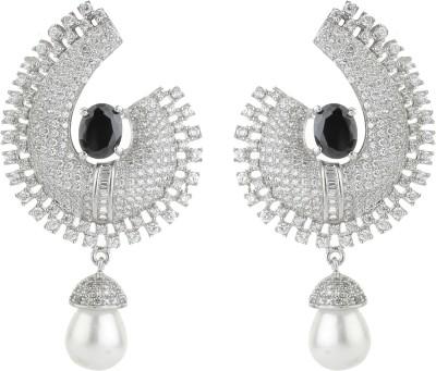 Dilan Jewels EAR000034 Zircon Silver Drop Earring