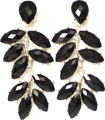Nexessories Casual Leaves Metal Drop Earring