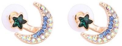 Stile Rhinestone Star Crystal Stud Earring