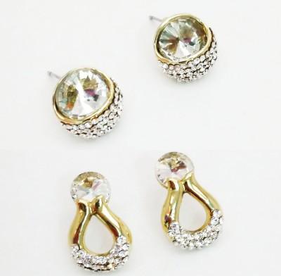 NEHASTORE Combo Offer CB18 Mother of Pearl Alloy Earring Set