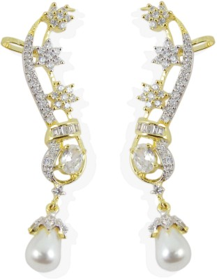 Muchmore ER 517 Cubic Zirconia Alloy Cuff Earring
