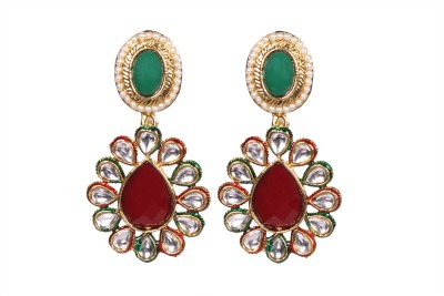 Tatva Kundan Designer Alloy Drop Earring
