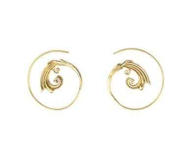 Gurjari Bali Brass Drop Earring