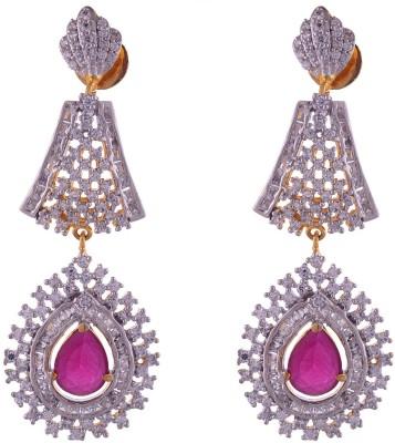 Shourya Brass Earrings Brass Drop Earring