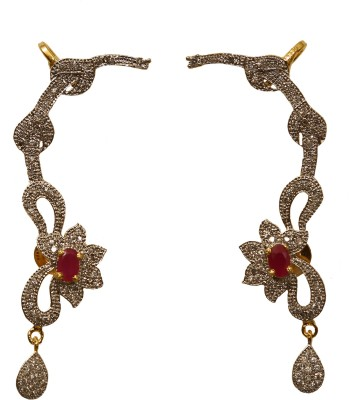 Jewelgrab Sai-Ad-R-Kanphool 2 Alloy Cuff Earring