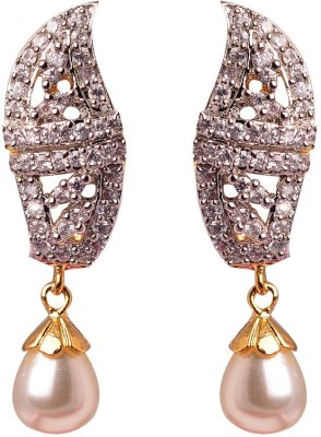 Swanvi New Alloy, Crystal Drop Earring