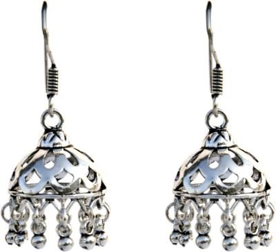 Aashirwad 925 st. Silver Silver Jhumki Earring