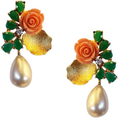 Jalparee Jalparee,s adorable Floral Earrings Alloy Drop Earring