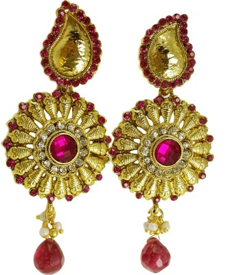 GB Jewellery Traditional Ethnic Bollywood Fashion Alloy Drop Earring