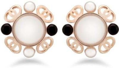 Jazz Jewellery Stud Earrings for Women Fashion Jewelry with Round Pearl Earrings Alloy Stud Earring
