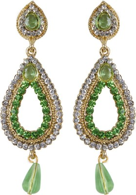 Grand Jewels Mahi Design Alloy Huggie Earring