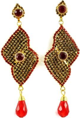 My Sara Earing Just Like A Diamonds Cubic Zirconia Copper, Brass Drop Earring