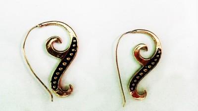 zenith jewels princess60 Brass Stud Earring