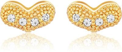 Oviya Enchantress Crystal Brass, Alloy Stud Earring