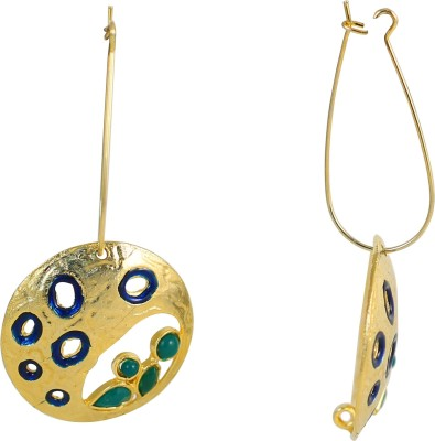 Touchstone Cocktail Alloy Drop Earring
