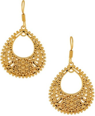 Gemshop STUNNING PAIR OF TONE Alloy Dangle Earring