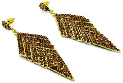 London Jewels Cubic Zirconia Zinc, Alloy Drop Earring