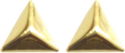 Italian Jewellery Triangle Alloy Stud Earring