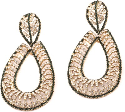 Medallion Collection Hangings Alloy Chandelier Earring