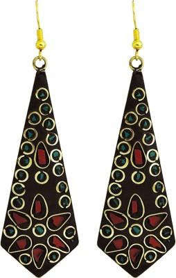 Yogada Handmade006 Brass Dangle Earring