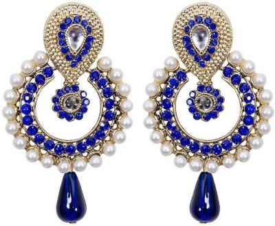 JDX American Diamond EarRing Brass Drop Earring