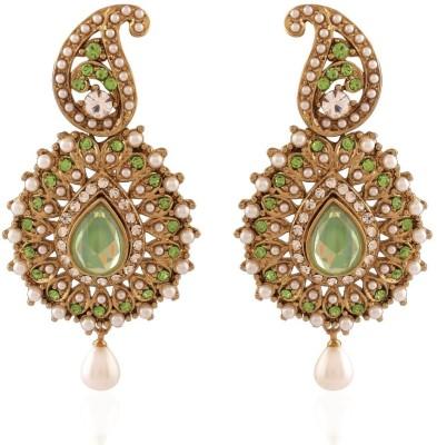 I Jewels Traditional Zinc Dangle Earring