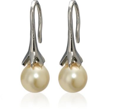 Eclat Swarovski Crystal Alloy, Brass Dangle Earring