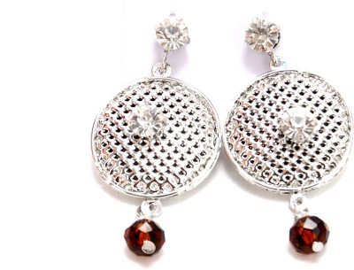 NM Products silver Metal Drop Earring