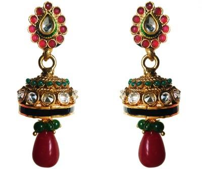 Vikalp Brass Jhumki Earring
