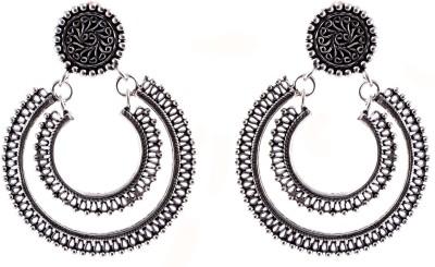 Aashirwad Daily Wear Sterling Silver Chandbali Earring