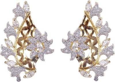 Muchmore Sparkling Designer Cubic Zirconia Alloy Stud Earring