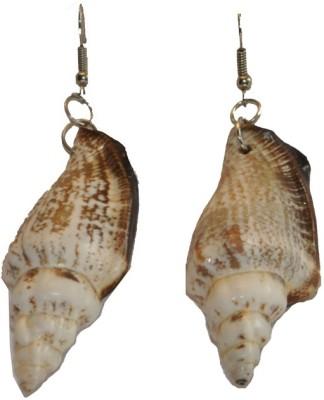 Women Trendz Shell Metal Drop Earring
