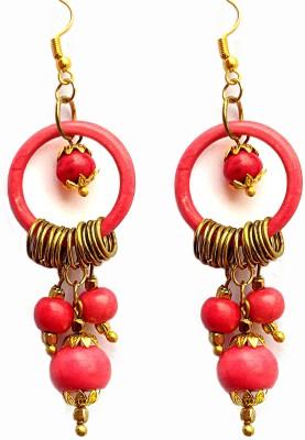 SGE SGE-4 Beads Metal, Stone Dangle Earring