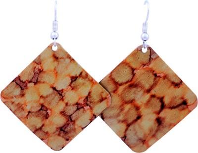 FSA Jewels Chromatic Printed Aluminum Dangle Earring