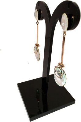Chains n Charms Reflector Crystal Alloy Drop Earring