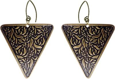 Kenway Retail Zingara Trendy Brass Dangle Earring