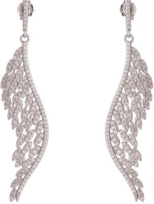 TUAN innovative designer Cubic Zirconia Sterling Silver Chandelier Earring