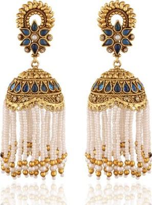 Panini Spring Sparkle Alloy Jhumki Earring