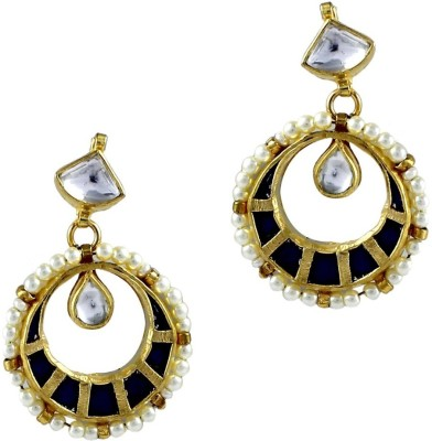 Gehnamart Grace Alloy Chandbali Earring