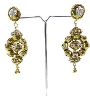 Tradeyard Impex Beautiful Cubic Zirconia Alloy Drop Earring