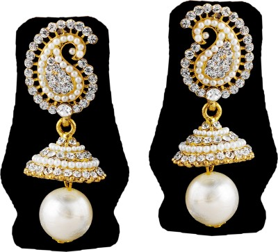 TAKSPIN Takspin party wear collectible tribal earring ( Indian jewellry) Alloy Jhumki Earring