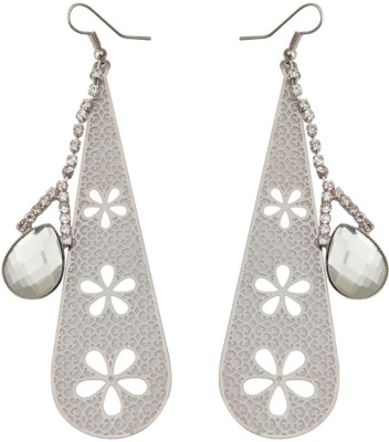 Taj Pearl Modern Alloy Dangle Earring