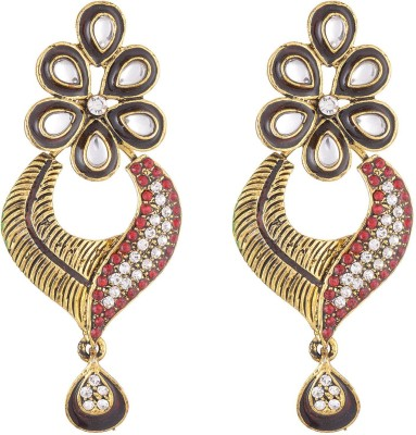 Neckies EGPR Brass Drop Earring