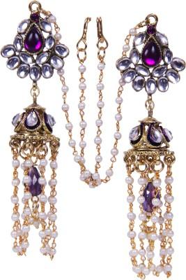 Traditsiya Jhumka Elegant Alloy Jhumki Earring