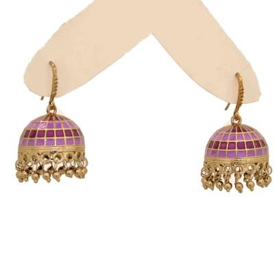 Arohi Jewells & Gems AJG111 Copper Earring Set
